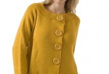 Yellow knits