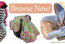 Cute Car Seat Covers / Love your infant? Then love their car seat cover. This is a new level of style and elegance. Check us out now: http://www.CuteInfantCarSeatCovers.com