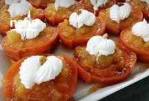 Meyveli tatlılar