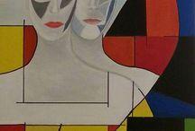 Arte contemporanea / Pittura acrilica e tecniche miste