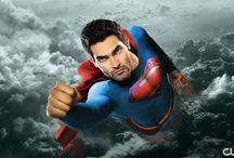 SUPERMAN  & SUPERGIRL.