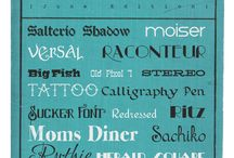 Fonts, Type, and Typography