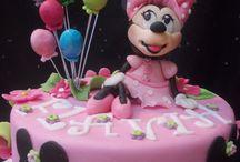 Minnie la zuccherosa / torta Minnie