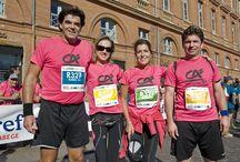 Marathon de Toulouse 2014 / Le Crédit Agricole Toulouse 31 court pour l'Ecole de la 2ème chance au 8ème Marathon de Toulouse!