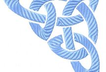 Wzory haftów irlandzkich