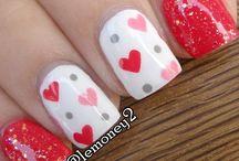 My Sweet Valentine Nails