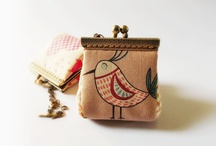coin purses / by Willow B Primitives