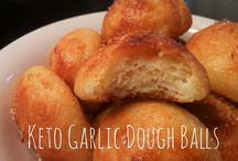 Garlic dough balls