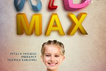 KID MAX posters / PLAKAT / ILUSTRACJA / LOGO klient: stacja tv KID MAX  2014