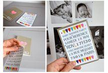 Faire-part stickers / Nouveau, tendance , joli et pratique le faire-part sticker chez fairepartmagnet.com