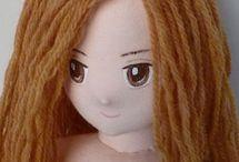 Amigurumi - oczy, włosy...