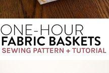 storage baskets made in 1 hour