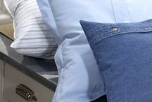 Men's shirt pillow shams