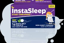 InstaSleep Mint Melts Drug-Free Sleep Aid / InstaSleep Mint Melts, drug-free quick melt sleep aid formulated by physicians. They taste great, dissolve smoothly in your mouth and help you fall asleep faster, but leaves no morning grogginess. For the relief of occasional sleeplessness.