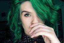 GREEN HAIR ASDFGHKLL