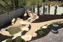 Water Features / Streams / Ponds / Our Aeroscape team includes Landscape Architects, Horticulturists, Project Managers, Certified Landscape and Irrigation Technicians, and Veteran Landscape installation crews that not only address immediate project needs, but also offer a cutting-edge style to the clients outdoor spaces that will stand the test of time. www.aeroscapeutah.com
