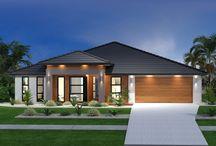 House facades
