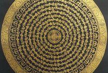 Tibetan Mandala Thangka Painting / Tibetan Mandala Thangka Painting