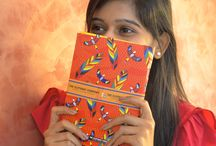 Notebooks & Stationary / A collection of vibrant, India-inspired notebooks and stationary sets from The Elephant Company.