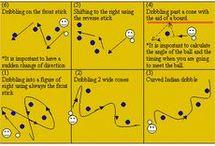 Hockey drills