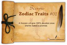 Scorpio Zodiac Traits / Find out about Scorpio characteristics and Scorpio personality traits.