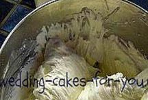 Frosting - wedding cake
