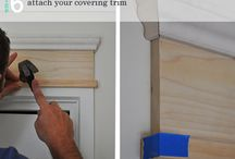 Adding moulding to door frames