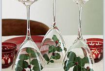 decorations de noel de table