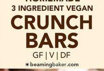 3 ingredients crunch bars