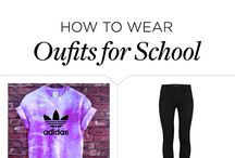 Outfits of the school