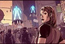 Bleedback Comic / Bleedback is a 5 series comic book coming out September 2013.