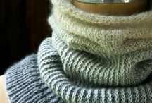 Scarves, snoods, cowls & cuddles