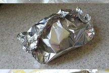 Foil-wrapped kooking