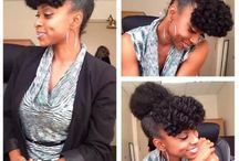Natural Hairstyles: Work 'Do!