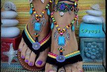 sandales Boho