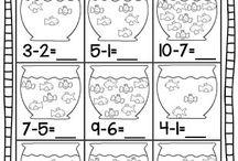 Matemática - subtração