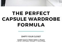 step by step build capsule wardrobe