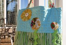 My Bags / Bags designed by Daydreams of Quilts.