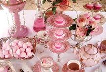a delicious pinkalicious hightea!