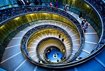 Escadas | Stairs | Espirais / by Evelyn Muller