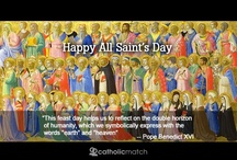 Saints / Inspiration found from the Saints that we love  / by CatholicMatch.com