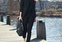 • All Black Outfit