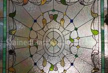 Iridescent Stained Glass