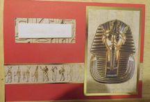 Egyptian theme birthday cards