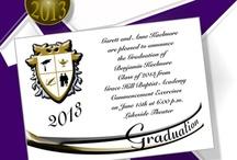 Graduation Announcements / Online graduation announcement catalog for universities, colleges, high schools, charter schools, tech and home schools