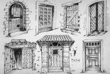 """MOTTO:  ,  Şi casa ta să-ţi fie zilnic sfântă.""""  Tudor Arghezi- """"Inscripţie pe o uş"""