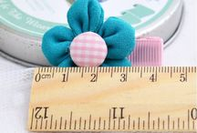 Hair Clips and Hair Ties / Cute, pretty hair clips for babies and little girls.