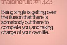 Singleness & Relationships