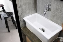 bathroom + toiles
