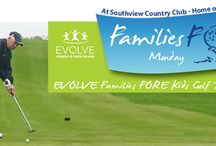 Families FORE Kids Golf Tournament & Dinner / When you attend Families FORE Kids, you're helping EVOLVE's team of dedicated professionals strengthen and prepare loving families to foster and adopt children across the US and the world. You're also supporting the ongoing care we provide to families throughout their journeys.